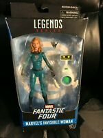 """Marvel Legends 6"""" Invisible Woman Mrs. Fantastic w/HERBIE New Sealed Walgreens 4"""