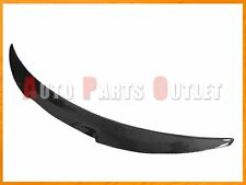 M4 Style Carbon Fiber Trunk Lip Spoiler For 2008-2013 BMW E82 128i 135i 2Dr