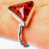 Baltic Amber 925 Sterling Silver Ring Size 8.75 Ana Co Jewelry R25846F