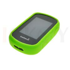 Rubber Green Case +  Screen Protector for Garmin eTrex 25 35 35T Accessories