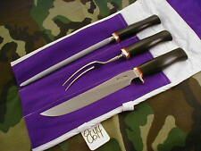 """RANDALL KNIFE KNIVES #6-9""""CARVING SET MADE UP TO MATCH THE NEW CHEFS KNIFE #8644"""