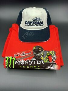 DIS hat autographed by AMA Supercross rider #15 Dean Wilson