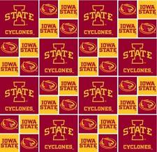 Iowa State University 100% Cotton Team Fabric By The Yard (BTY) Sykel ISU-006