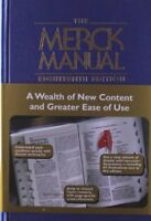 The Merck Manual of Diagnosis and Therapy, 18th Edition by Mark H. Beers…