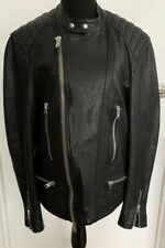 All Saints Leather Jackets Size XL