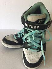 "NikeiD Custom ""HIP HOP"" Dance Hi-Top Shoes Sneakers Size 8.5"