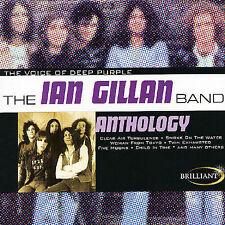 IAN GILLAN Anthology [Brilliant] (CD, Jan-2002, Brilliant)