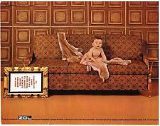 PUBLICITE  1967    ZOL  CANAPE-LIT