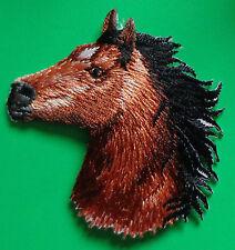 IRON ON APPLIQUE  - HORSE HEAD
