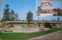 1950 Chrome AD Postcard: Motel Jesup- Jesup, Georgia GA