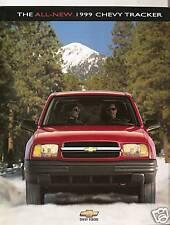 1999 Chevy Tracker  - Dealer Brochure