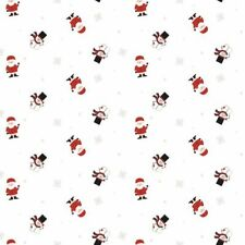 Christmas Cellophane Santa Waving 1M - 100 Meter 80cm Wide Florist Gift Wrap