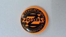 Zounds anarcho punk post-punk music artist buttons vintage SMALL BUTTON 2
