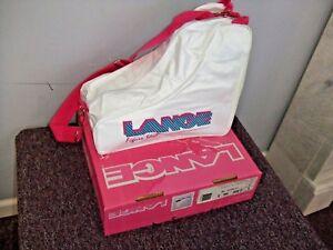 New Lange ice figure Skate Bag white  $29.99 retail fast free shipper