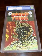Swamp Thing #9 CGC 9.4 White Pages Wrightson Cover & Art DC Comics 1974