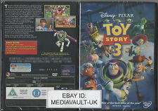 TOY STORY 3  DISNEY PIXAR DVD - BRAND NEW SEALED - UK RELEASE