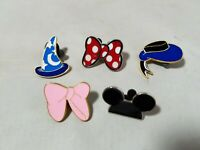 Disney Official Trading Pins Mickey Minnie Mouse Hats Bows Lot of 5