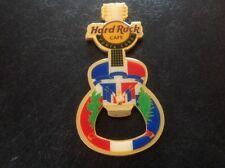 Punta Cana Hard Rock Cafe Bottle Opener Magnet. Guitar Shape.
