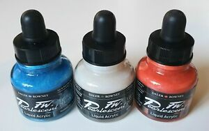 Daler Rowney FW Pearlescent Liquid Acrylic Ink - Choose Your Colour