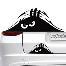 1*Peeking Monster Funny Cute Sticker Waterproof Vinyl Decal For Car Window Top