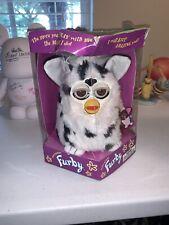 First Run Dalmatian Furby White w/ Black Spots Model 70-800 Tiger Electronics 98