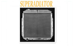 Ford F100 Aluminum Radiator fit for 1953-1956 Pickup Truck L6 V8
