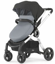 Chicco Urban 6-in-1 Modular Single Baby Stroller Coal FREE EXTRA COLOR PACK