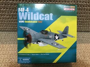Dragon Wings-Warbirds 1:72 F4F-4 Wildcat, USMC VMF224 Guadalcanal 1942 No. 50234