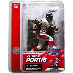 Clinton Portis Denver Broncos NFL AFC Pro-Bowl McFarlane Figure NIB Exclusive