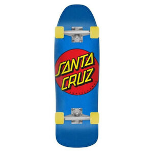 "Santa Cruz Skateboard Complete Classic Dot 80's Style Blue 9.35"" x 31.7"""