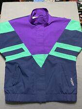 Vtg 90s Tourney Gore Tex Color Block Windbreaker Jacket Women's Small S Vintage