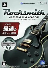 Used PS3 RockSmith 2014 Real Tone Cable SONY PLAYSTATION 3 JAPAN JAPANESE IMPORT