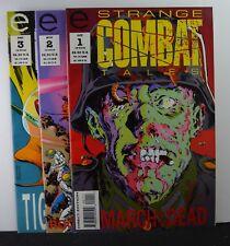 Strange Combat Tales #s: 1,2,3 (Epic, 1993)  3 Issues!