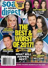 Soap Opera Digest Magazine - December 18, 2017 - The Best & Worst of the Year