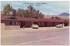 Lemhi, Idaho, Early View of Fisherman's Lodge Motel