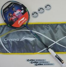 Li-Ning Air Stream N99 Badminton Racquet Chen Long Signature Ltd, Blue/Silver