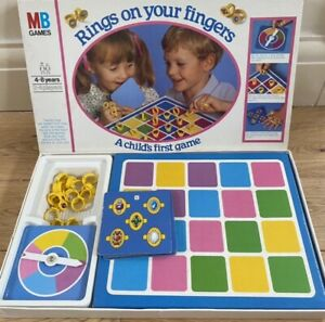 Vintage MB Games 1981 Rings On Your Fingers Complete