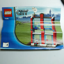 THE NICKEL STORE: LEGO CITY 7208 #4 INSTRUCTION BOOKLET (B8)