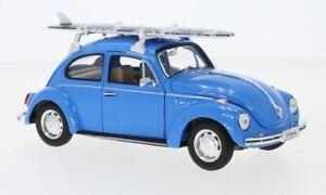 VW Käfer, blau, 1:24, Welly
