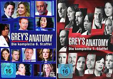 Grey's Anatomy - Die komplette 6. + 7. Staffel (Greys)               | DVD | 273