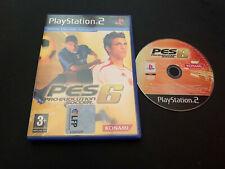 Pro Evolution Soccer 6 Play Station 2 PS2 PAL ESPAÑOL