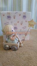 Enesco Precious Moments Wishing You a World of Peace 1999 Membership Figurine