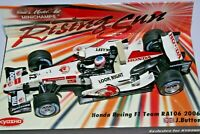 1:43 J. BUTTON Honda Racing F1 Team RA106, 2006, Rising Sun - Minichamps F1