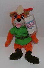 "Robin Hood Mini Bean Bag Plush 8"" Disney Store - New With Tags NWT"