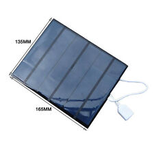 6V 3.5W Portable Solar Panel Battery Charger Pack Power Bank for Iphone Samsung