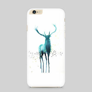 Stag Art Water Colour Phone Case Cover