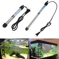 US Plug Submersible Aquarium Fish Tank Heater Stainless Steel 25/50/100/200/300W
