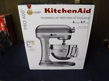 *NEW* KitchenAid 6-Quart Pro 600 Bowl-Lift Stand Mixer, Silver (KP26M1XSL)