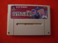 PTO: Pacfic Theater of Operations Super Famicom Japanese game US SELLER! P.T.O.