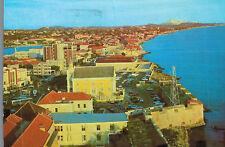 Punda,Curacao,Neth.Antilles,So.Coast & Mikve Israel-Emanuel Synagogue,Used,1982